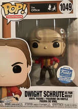 funko pop dwight schrute as pam beesly throwing Snow Balls - $39.60