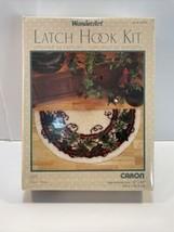 "NEW  Caron Wonder Art IVY Latch Hook Half-Circle Rug Kit # 4783 16"" x 33""  - $24.70"