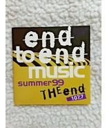 THE END (107.7 FM, SEATTLE) SUMMER 99  MUSIC SAMPLER CD, EXCELLENT CONDI... - $7.00