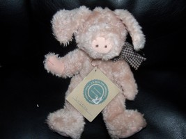"""Boyds Bears Plush LOFTON Q McSWINE Pig 8"""" posable jointed w/tags Retired... - $29.16"""