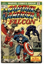 Captain America #171 1974- Falcon- Black Panther - Sal Buscema- VF - $40.35