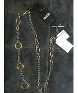 Michael Kors Femmes Neuf 2 Tons Ceinture Taille: S/M Longueur : 39 - $48.49