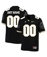 Men's UCF Customized Name Number NCAA College Football Jersey Black - $61.09