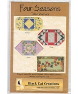 Four Seasons Quilted Table Runner Pattern - $4.99