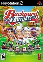 Backyard Football 2010 - PlayStation 2  - $22.99