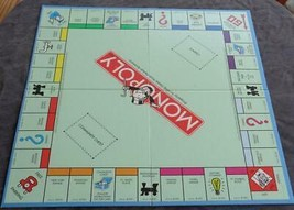 Gently Used Monopoly Board - Board Only - Vgc - Great Replacement Board - $8.90