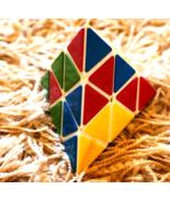 Vintage Triangle Rubik Cube Soviet USSR Puzzle Game Mind Logic Game Coll... - $33.00