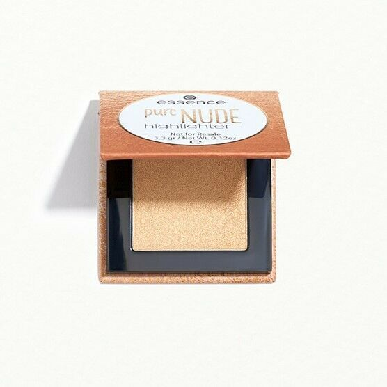 ESSENCE COSMETICS Pure Nude Highlighter 010 in Popping Champagne Brand New - $4.99