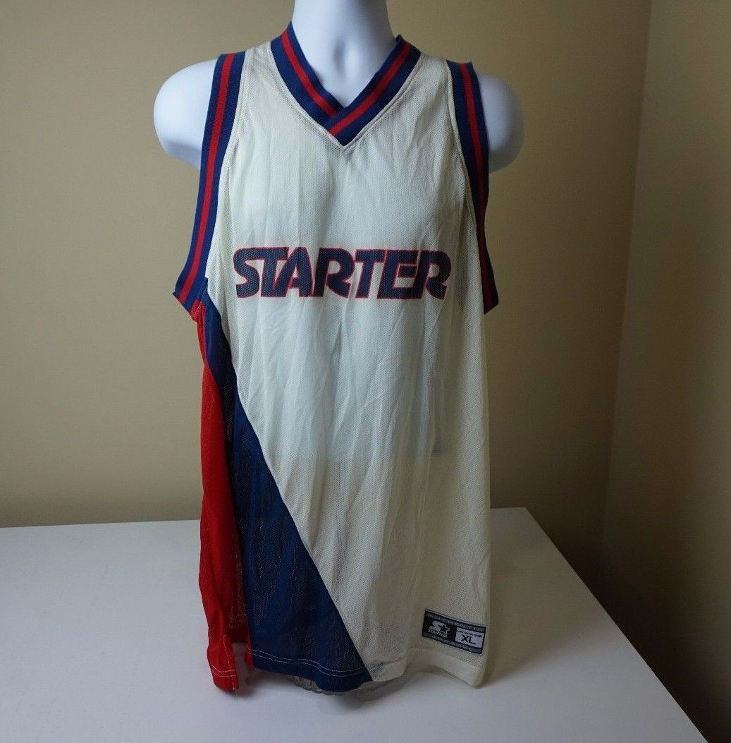 c8083c7869bcc 57. 57. Previous. New VTG 90s Starter Basketball Practice Mesh Tank Top  Jersey Blank Size XL