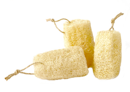 5 Pcs/ Set Natural Loofah Sponge Exfoliating Loofah Luffa Loofa Bath / K... - £6.59 GBP