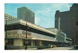 Chrome postcard Greyhound Bus Terminal, Post House Cafeteria Detroit, Mi... - $5.00