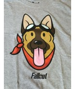 Loot Gaming Crate Exclusive T-Shirt Fallout 3 4 76 Dogmeat Dog Meat Grap... - $15.14