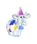 Party Mo Cow Limited Edition Celebration 2018 Swarovski Crystal Figurine... - $64.95