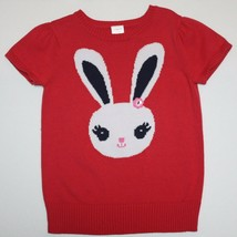 Gymboree Brightest in Class Flower Button Bunny Sweater size 5 6 - $19.99