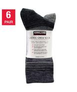 NEW Kirkland Signature Ladies' Merino Wool Sock, 6-pair **FREE SHIPPING** - $39.99