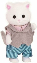 Father of Sylvanian Families doll Persian cat - $12.97