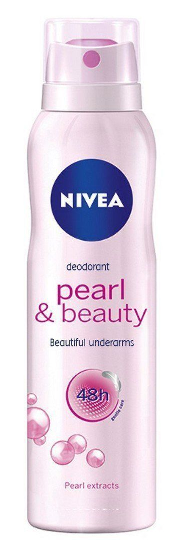 Nivea Pearly and Beauty Deodorant 48Hours, 150 ml