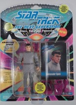 MIB 1993 Playmates Star Trek TNG Next Generation Ambassador Spock Action... - $7.08