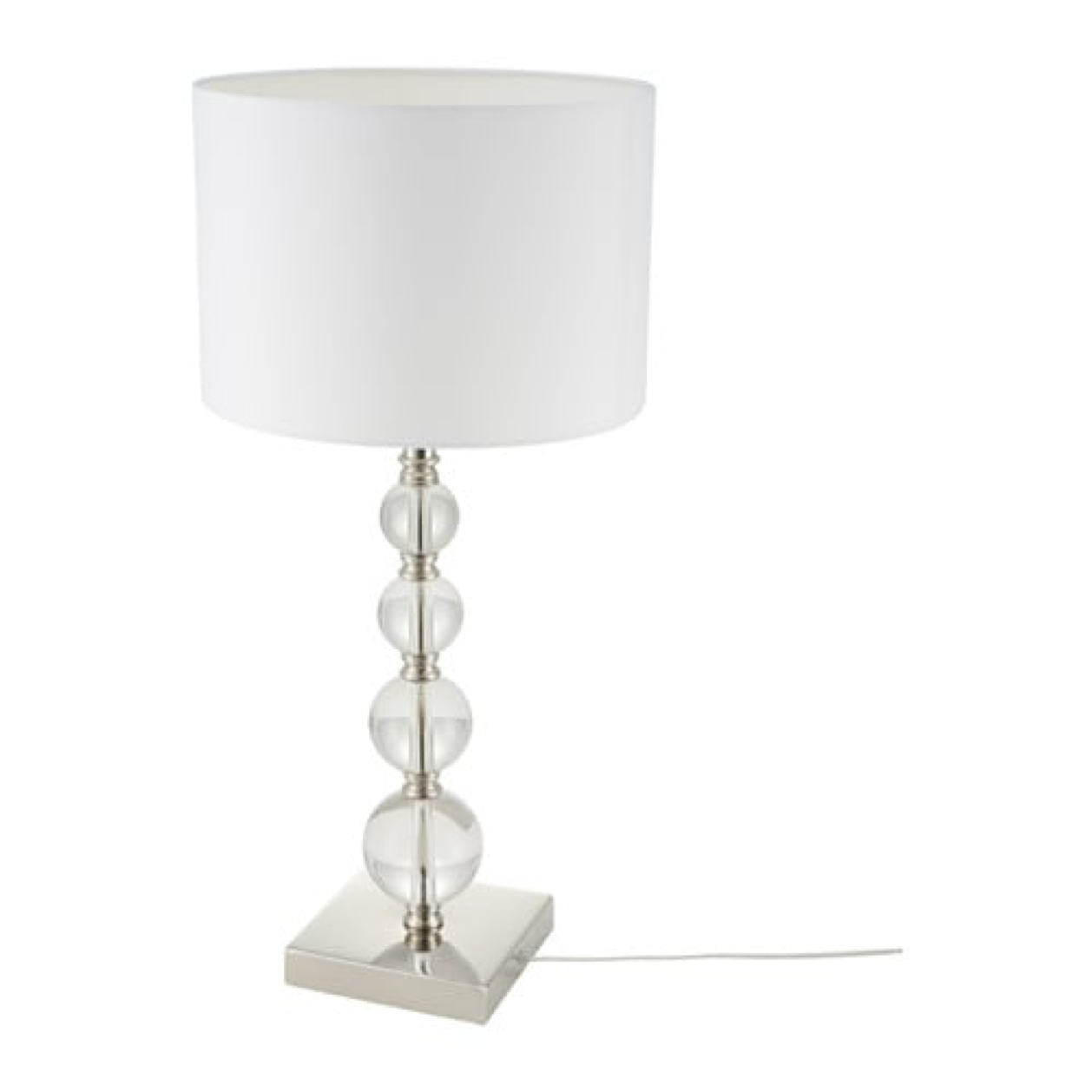 "IKEA Roxmo Table Lamp, 28"", White, 702.518.20 - NEW"