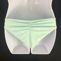 L Space Monique Ruched Side Back Bikini Bottoms Hipster Womens XS Extra Small image 4