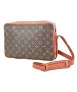 Auth VTG LOUIS VUITTON Sac Bandouliere Monogram Shoulder Tote Bag Purse ... - $195.00