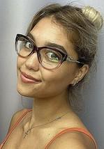 New BURBERRY B 1022-F 5353 53mm Brown Cats Eye Rx Women's Eyeglasses Frame - $129.99