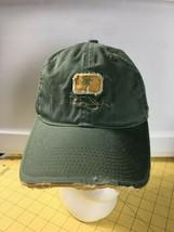 Caps Hats Snap-backs Ball Cap Panama Jack Distressed Destroyed Green Hat... - $18.57