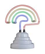 Small Desk Neon Lamps (Rainbow White Base) - $25.43