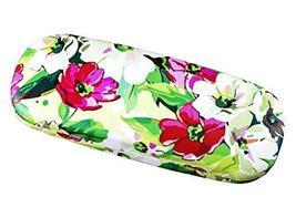 Floral Glasses Case Protective Holder Hard Leather Eyeglasses Case - 13 - $16.71