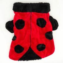 """Ladybug Dog Costume 16"""" Halloween Dress Up Red Black - €7,13 EUR"""