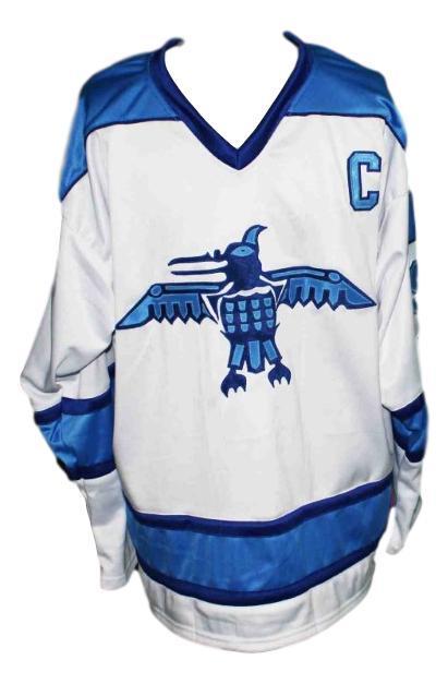 Wayne gretzky ross sheppard high school hockey jersey white   1