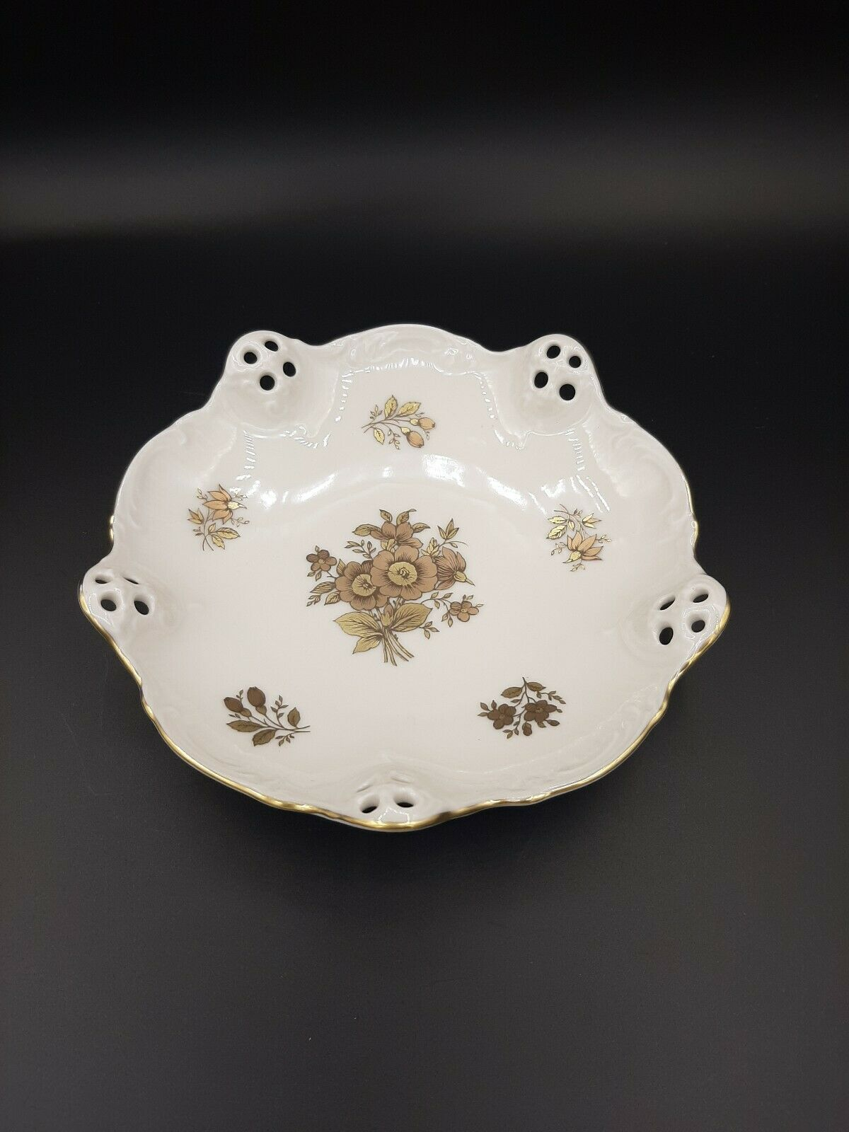 Primary image for Rosenthal Group Germany, Classic Rose Collection Porcelain Dish