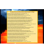 The Battle Between the Heart and Mind - Printable Poetry Instant Download - $1.98
