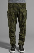 G Star RAW Rovic Extra Loose Tapered Cargo Pants in Green Size W32/L34 B... - $99.75