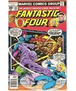 Fantastic Four Comic Book #182 Marvel Comics 1977 FINE- - $5.71