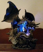 Black Dragon Statue Light - $49.99