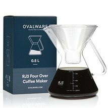 Pour Over Coffee Carafe (Coffee Maker without Filter|0.5 Liter / 17 oz) - $29.89
