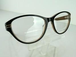 PRODESIGN DENMARK 1696 (6022) Black Shiny 55  x 16  Eyeglass Frames image 1