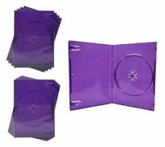 5 empty Purple Replacement Microsoft Xbox 360 Kinect Game Cases - $3.95