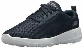 SKECHERS WOMEN'S GO WALK JOY 15601 SHOE NAVY/WHITE 8.5 M US - $44.54