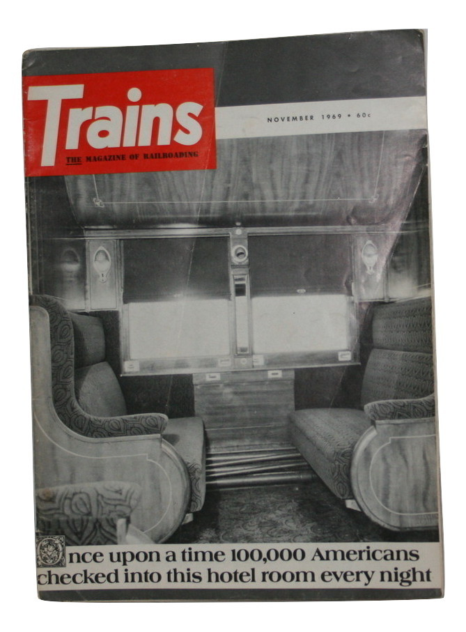 Trains Magazine, 1969 Used, Good Condition