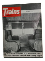 Trains Mag. 11,1969, Once upon a time 100k checked into this hotel room every ni