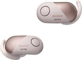 Sony WF-SP700N Bluetooth Wireless Noise-Canceling In-Ear Headphones, Mic, Pink - $109.95