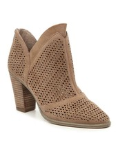 NEW  VINCE CAMUTO BEIGE LEATHER BOOTIES SIZE 8.5 M $149 - £28.89 GBP