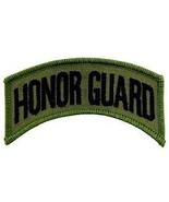 ARMY HONOR GUARD SUBDUED OD SHOULDER ROCKER TAB EMBROIDERED MILITARY PATCH - $13.53