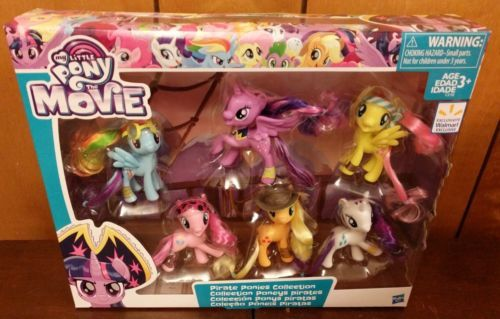 My Little Pony the Movie Pirate Ponies Collection Mane 6 Walmart Exclusive Toy