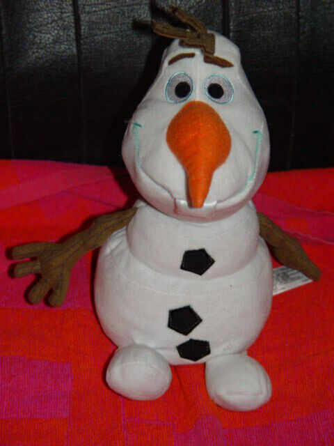 Fabulous Disney Frozen Olaf Plush 11 Tall From And 50 Similar Items Machost Co Dining Chair Design Ideas Machostcouk