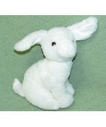 "Vintage Gund White RABBIT 1992 8"" Plush Stuffed Bunny Tall Sitting Anima... - $20.79"