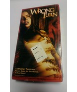 Wrong Turn VHS Video Horror New VHS - $9.39