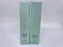 Lote 2 Mally Micro Fibra Máscara Prebase Negro .1331ml en Caja - $15.54